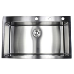 Best Stainless Steel Kitchen Sink Led Tape 36 Inch Top Mount Drop In Single Bowl