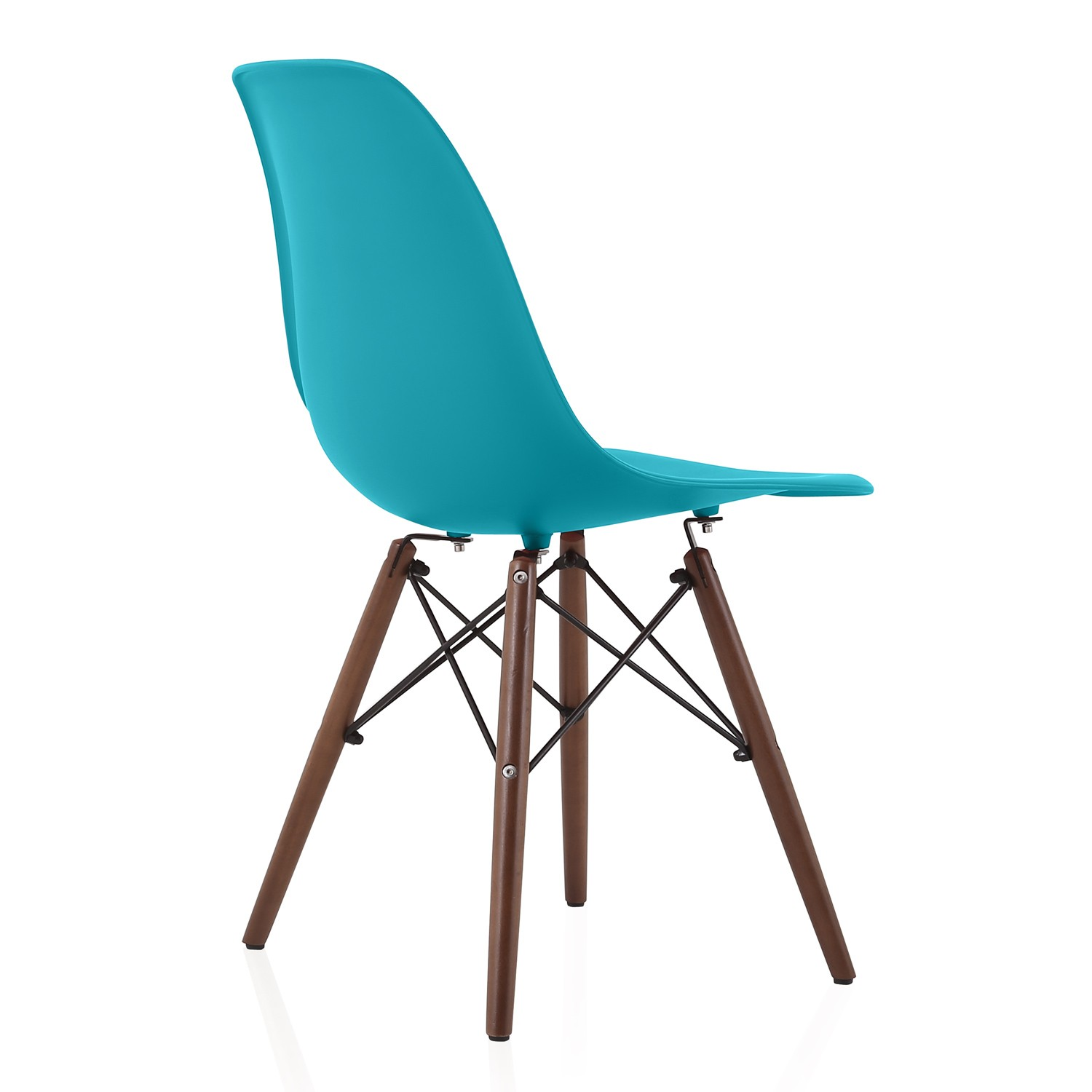 dark teal dining room chairs lazy boy wing chair recliner slipcovers nature series blue eames style dsw molded plastic