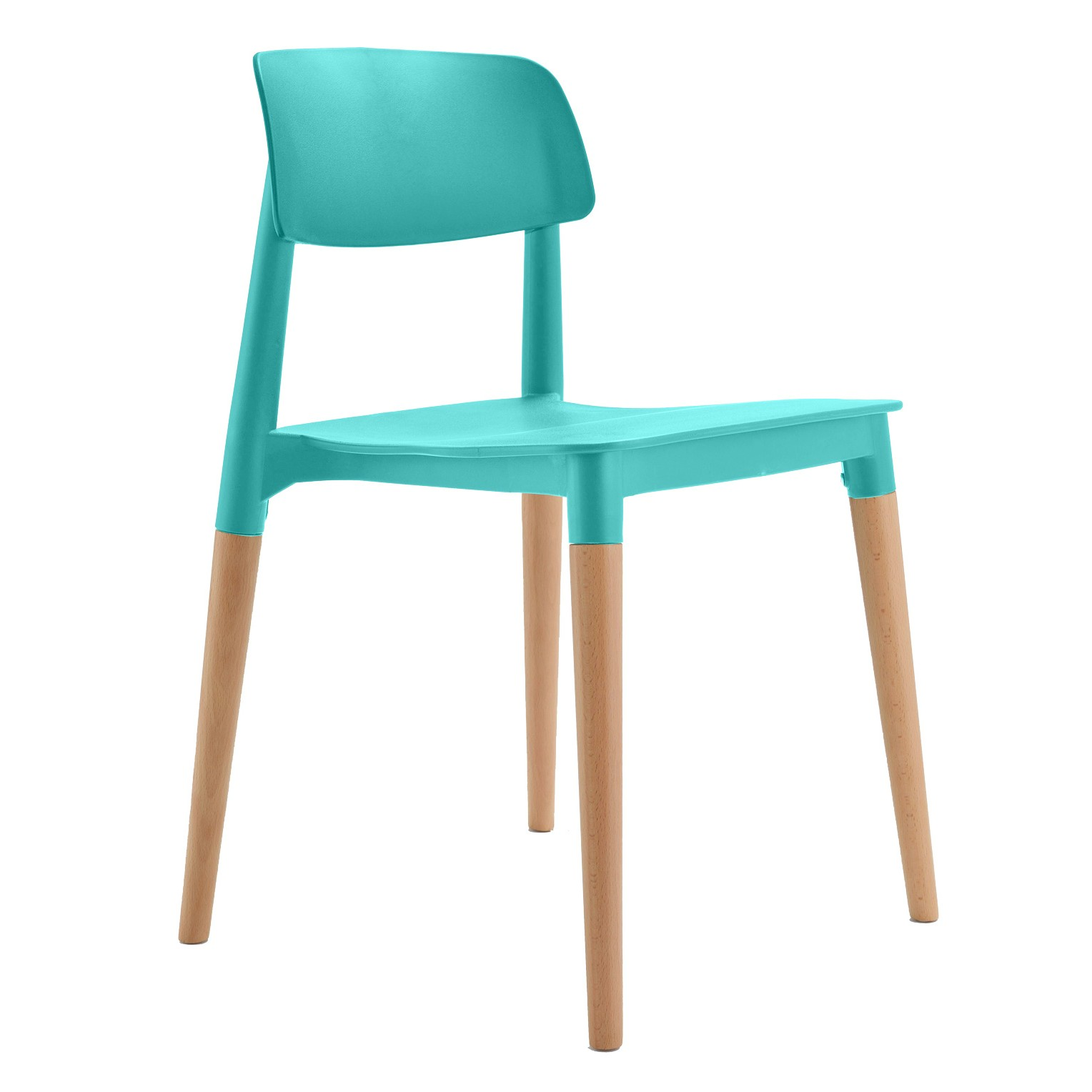 Bel Turquoise Dining Bistro Cafe Side Chair