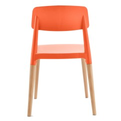 Orange Cafe Chairs Office Chair Covers Bed Bath And Beyond Bel Dining Bistro Side