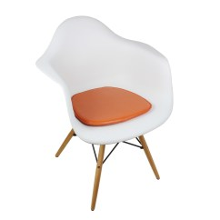 Eames Chair Cushion Beach Chairs And Umbrellas Pictures Seat For Style Dining Armchair