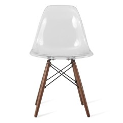 Clear Acrylic Chair Seat Cushions For Wicker Chairs Eames Style Dsw Plastic Dining Shell