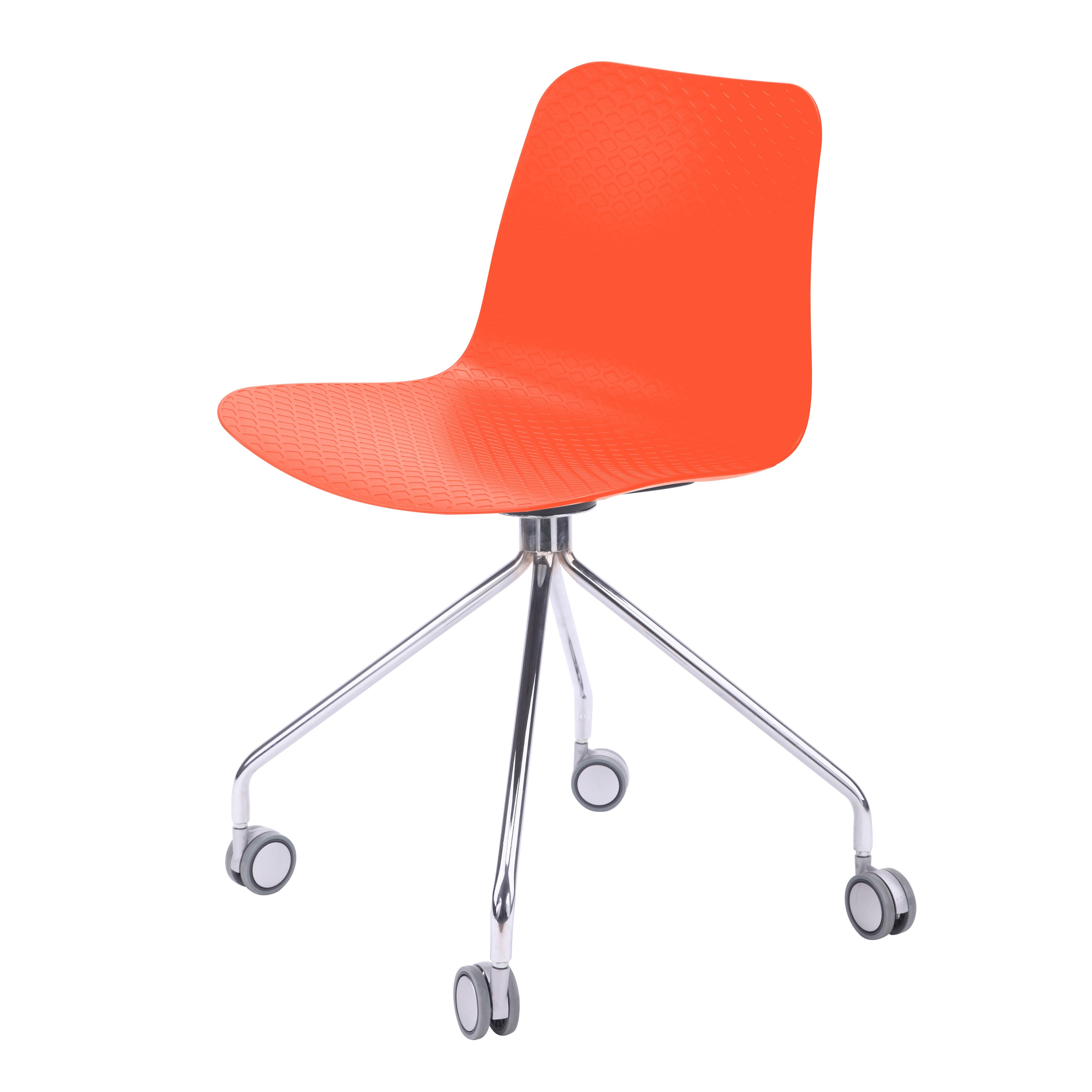 office chair orange cover hire portsmouth hebe series molded plastic designer
