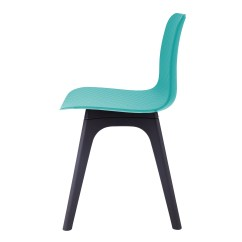 Turquoise Side Chair Fold Out Bed Ireland Hebe Series Dining Shell Molded