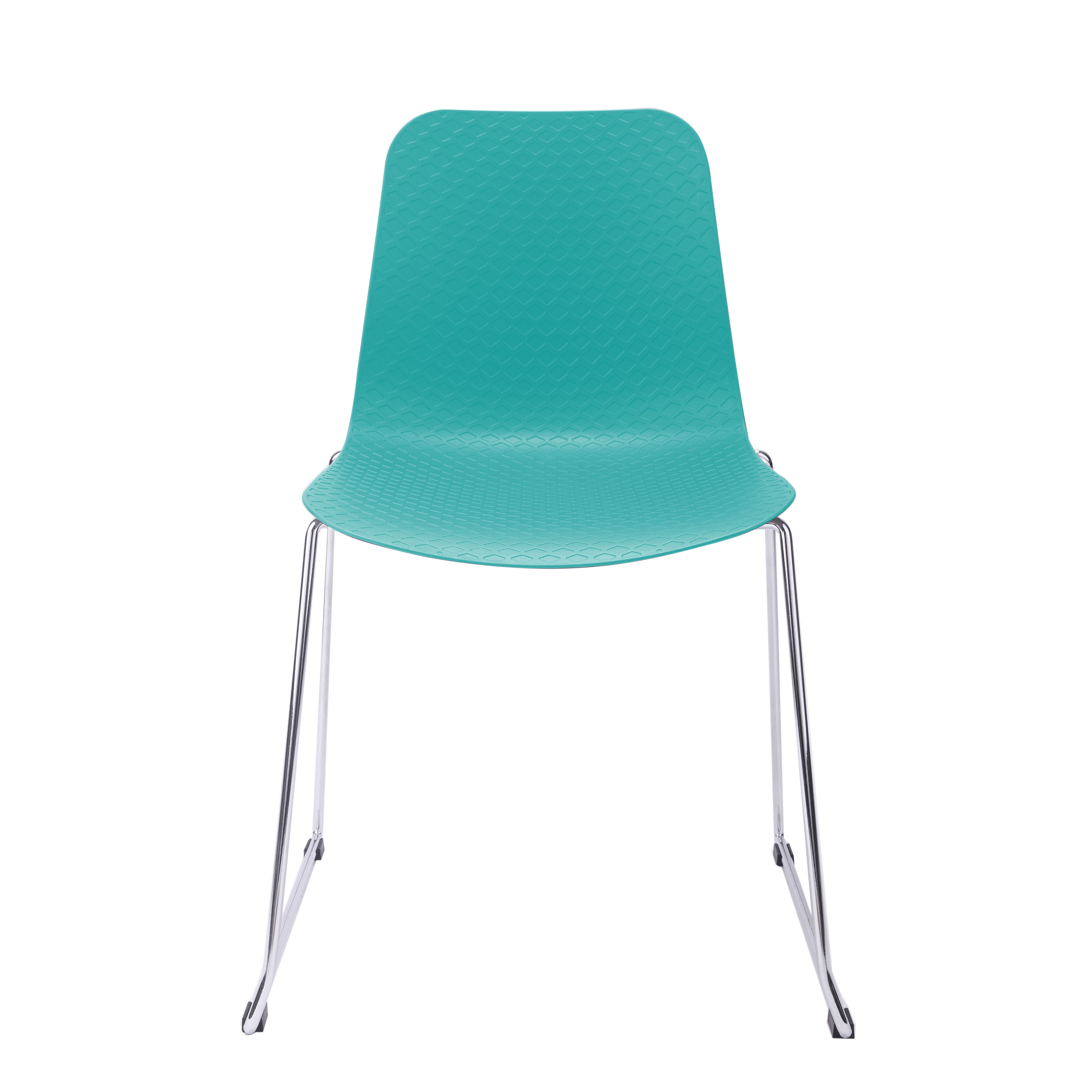 turquoise side chair golden lift hebe series dining shell molded