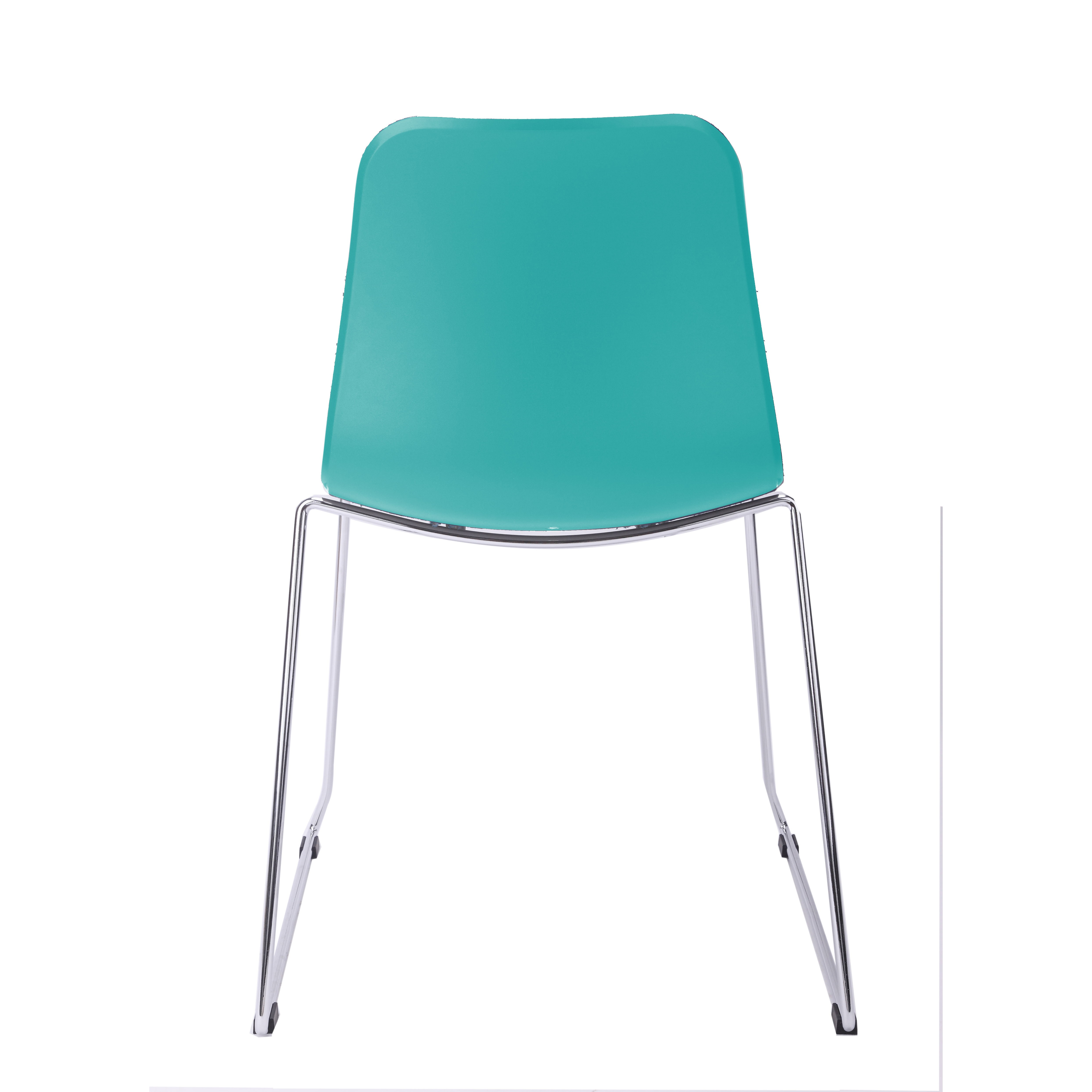 turquoise side chair recliner for child hebe series dining shell molded