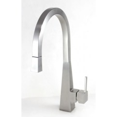 Kitchen Faucets Stainless Steel Custom Cabinetry Ariel Imperial Design Lead Free Single Hole Pull Out Faucet