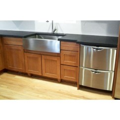 36 Kitchen Sink Majestic Cabinets Inch Stainless Steel Single Bowl Flat Front Farm Apron