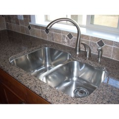 Sinks Kitchen Ikea Designs 31 Inch Stainless Steel Undermount 60 40 Double Bowl Sink 32 18 Gauge