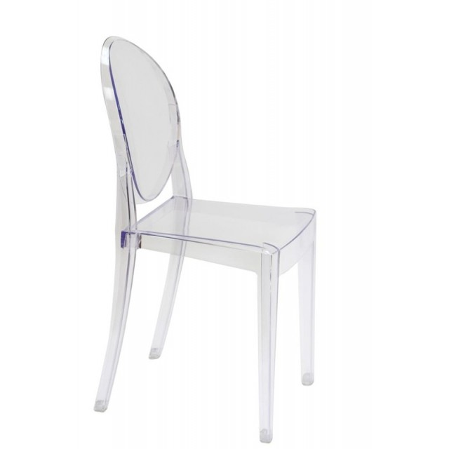 transparent polycarbonate chairs chair covers christening victoria style ghost dining clear color