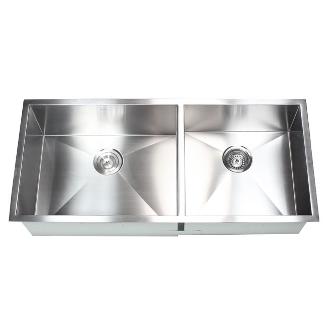 42 Inch Stainless Steel Undermount 60400 Double Bowl