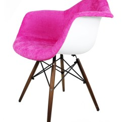 Bedroom Chair Pink Velvet Ergonomic Best 2018 Shocking Fabric Eames Style Accent Arm