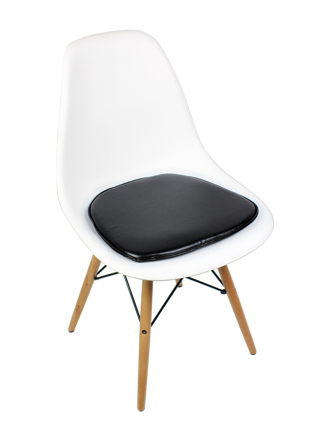white plastic dining chairs swing chair egg eames style dsw molded shell