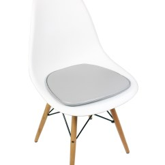 White Plastic Dining Chairs Mustard Yellow Accent Chair Eames Style Dsw Molded Shell