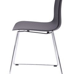 Plastic Chairs With Steel Legs Bradley Club Chair Hebe Series Black Dining Shell Side Molded