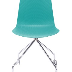 Desk Chair Turquoise Stool Hire Hebe Series Office Molded Plastic Designer Task With Your Purchase Receive At No Cost
