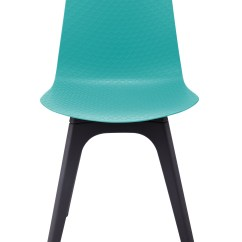 Turquoise Side Chair Universal Covers Rental Hebe Series Dining Shell Molded