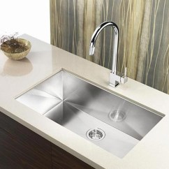 Undermount Single Bowl Kitchen Sink Bar Stools For Island 32 Inch Stainless Steel Zero Regular Price 1 150 00