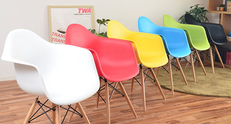 eames style plastic chair design types dsw molded orange dining shell with wood daw arm chairs