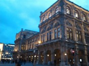 The opera house from outside.
