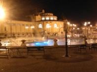 The baths.