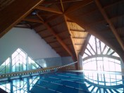 The AUI swimming pool.