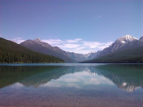 Lake MacDonald from Apgar Village