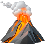 🌋 vulkaan - Emoji Betekenis