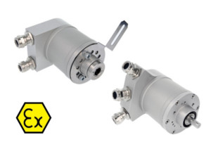 IXARC - Explosion proof, incremental encoder OCE, UCE Zone 1, 21