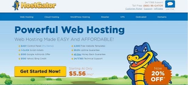 Best Web Hosting Company HostGator