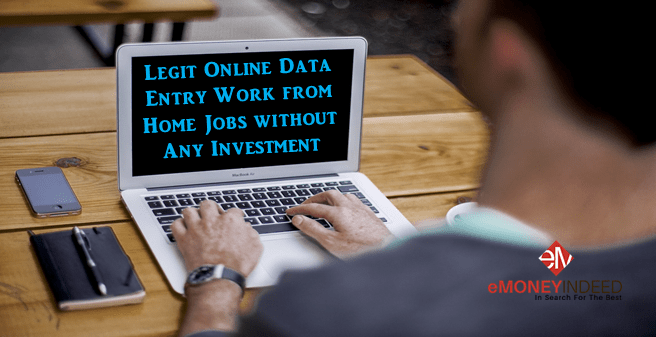 Online Data Entry Work From Home Jobs