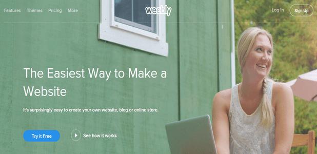 Best Blogging Platform Weebly