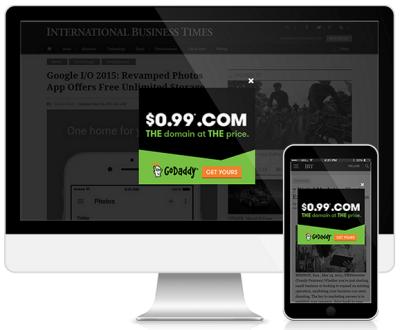 Infolinks in screen
