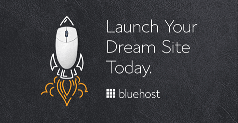 Start a Blog - Bluehost Webhosting