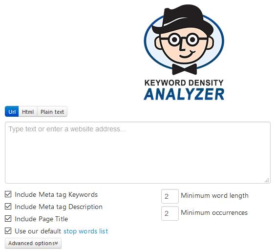 Free Keyword Density Analyzer Tool