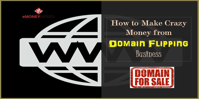 how to make money from domain name