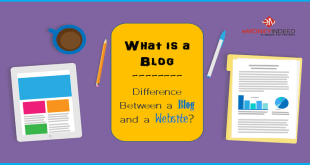 What is a Blog - Difference Between a Blog and a Website