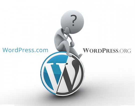 Wordpress.com and WordPress.org