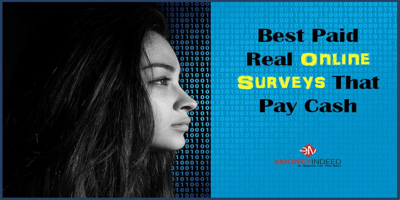 15 Best Paid Real Online Surveys That Pay Cash