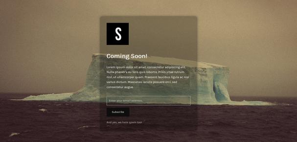 Minimal Coming Soon & Maintenance Mode for WordPress — WordPress Plugins
