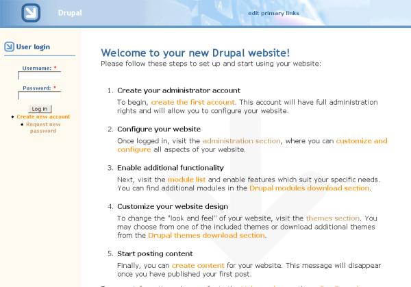 Drupal isn't that far behind