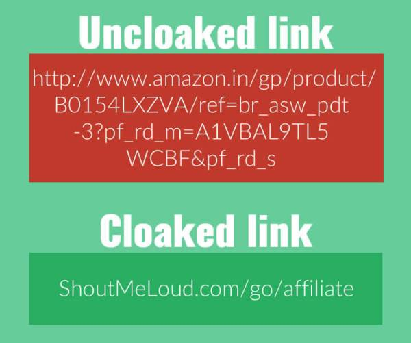 What Is Cloaking A Link