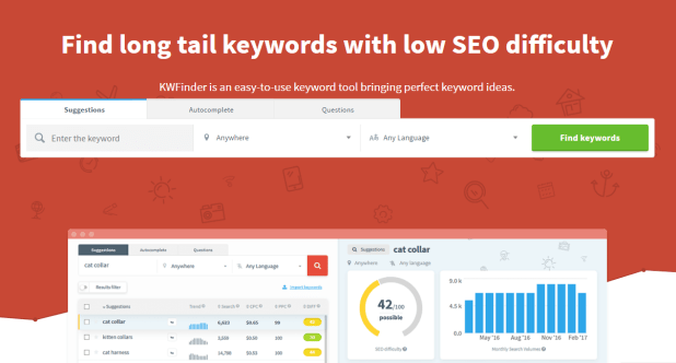 KWFinder Review – The Best Long Tail Keywords Research Tool
