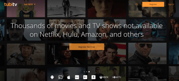 Watch Free Movies and TV Shows Online _ Free Streaming Video _ Tubi TV