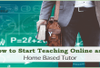 How to Become an Online Tutor and Start Teaching Online