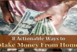 Actionable Ways to Make Money from Home