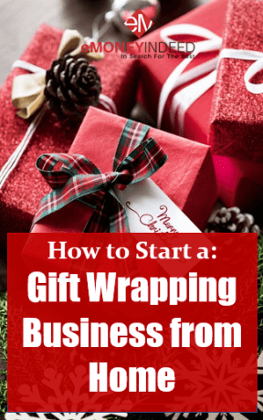 Home based gift wrapping business