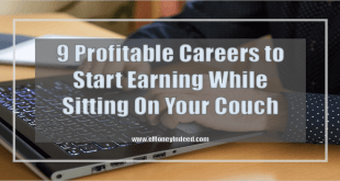 Start Earning While Sitting on Your Couch with these 9 Profitable Careers