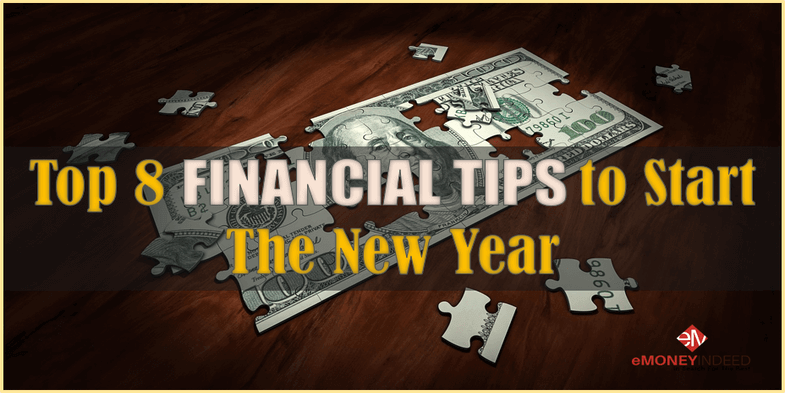 Top 8 Financial Tips to Start the New Year