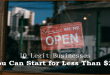 10 Legit Businesses You Can Start for Less Than $25